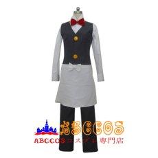 画像1: ポケットモンスター ウェーター スタッフ レッド コスプレ衣装  abccos製 「受注生産」 (1)