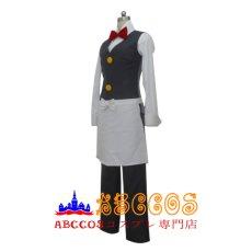 画像2: ポケットモンスター ウェーター スタッフ レッド コスプレ衣装  abccos製 「受注生産」 (2)