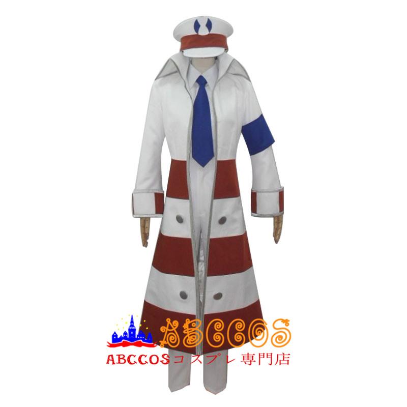 画像1: ポケットモンスター BW サブウェイマスター クダリ コスプレ衣装  abccos製 「受注生産」 (1)