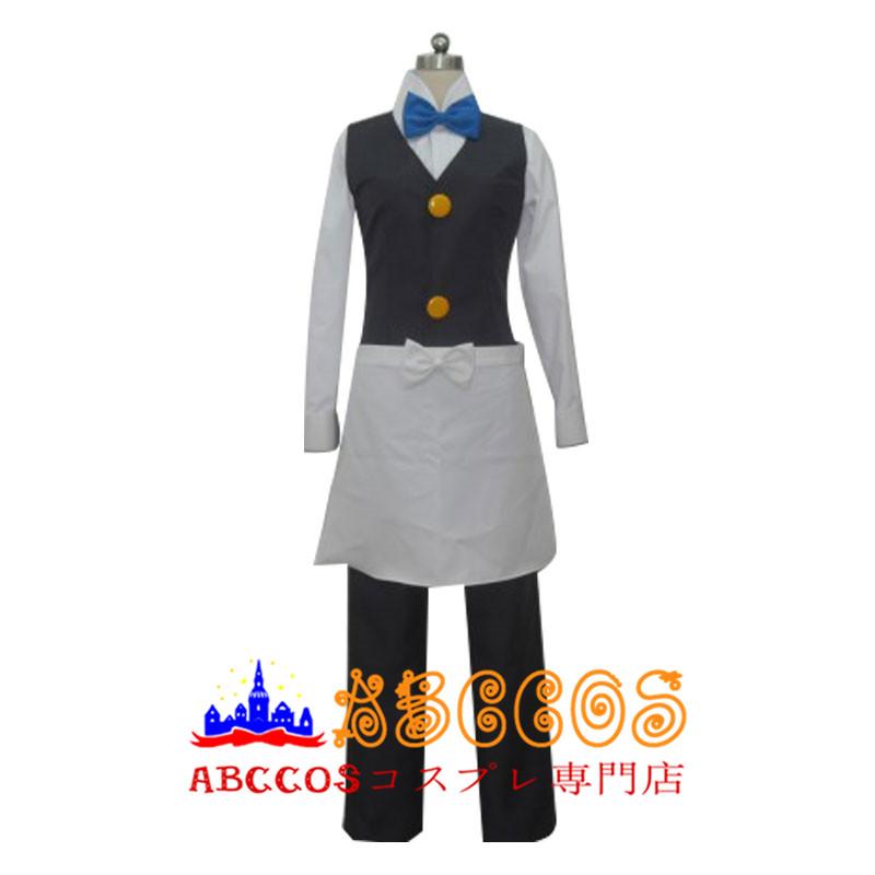 画像1: ポケットモンスター ウェーター スタッフ ブル— コスプレ衣装  abccos製 「受注生産」 (1)